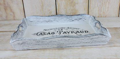 taca drewniana rustykalna